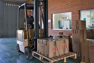 Shipments area