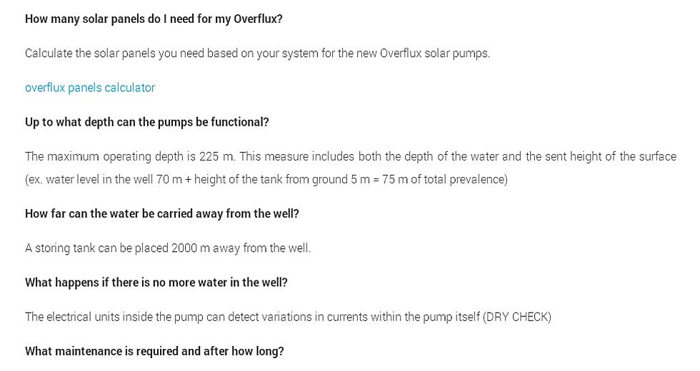 FAQ Fluxinos